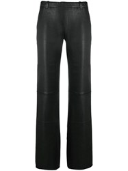 Stouls Oswald Straight Trousers Black