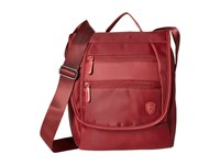 Heys America Hilite Crossbody Messenger With Rfid Red Messenger Bags