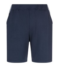 Homebody Contour Stripe Lounge Shorts Navy