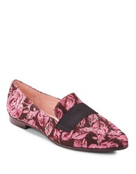 Kate Spade Corina Floral Printed Loafers Rose