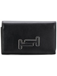 Tod's Double T Small Wallet Black