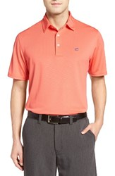 Southern Tide Men's Roster Polo Sunset Coral