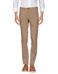 One Seven Two Trousers Casual Trousers Camel