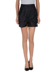 Antipodium Denim Shorts Black