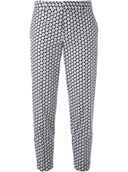 Dsquared2 Polka Dot Trousers Blue
