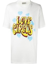 Faith Connexion Oversized Circus T Shirt White