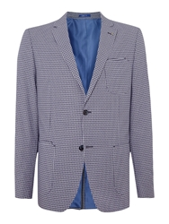 Peter Werth Joe Button Blazer Navy And White