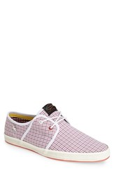 Fish N Chips Men's Fish 'N' Chips 'Spam 2' Canvas Sneaker Red