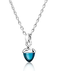 Mikado Bouquet London Blue Topaz Pendant Enhancer Tamara Comolli