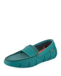 Swims Stride Bands Waterproof Slip On Loafers Blue