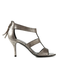 Premiata Cut Out Sandals Metallic