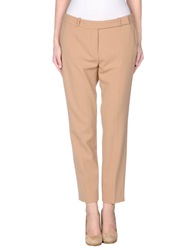 Clips More Casual Pants Ocher