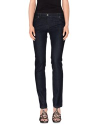 Balenciaga Denim Denim Trousers Women Blue