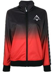 Marcelo Burlon County Of Milan Kappa Gradient Track Jacket Black