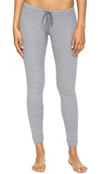 Eberjey Cozy Leggings Heather Grey