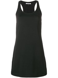 Fisico Sleeveless Mini Dress F0009 Black