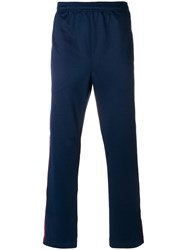 Stussy Logo Elasticated Waist Trousers Blue