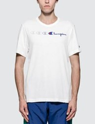 Champion Reverse Weave Fading Logo S S T Shirt