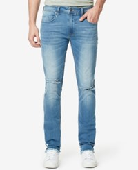 Buffalo David Bitton Men's Max X Skinny Jeans Vintage And Worn