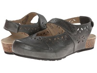 Aetrex Cheryl Mary Jane Graphite Women's Maryjane Shoes Gray