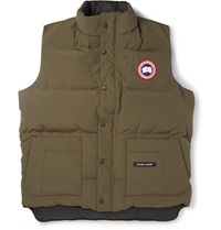 Canada Goose Freestyle Down Filled Shell Gilet Green
