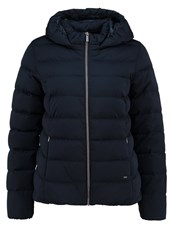 Opus Halika Winter Jacket Lush Blue Dark Blue