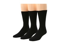 Fox River Wick Dry Light Ease 3 Pair Pack Black Crew Cut Socks Shoes