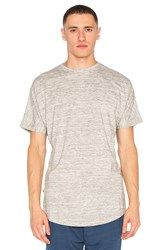 Publish S S Scallop Tee Grey
