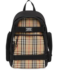 Burberry Nevis Vintage Check Panel Backpack 60