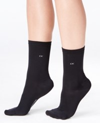 Calvin Klein Women's 5 Pk. Crew Socks Black
