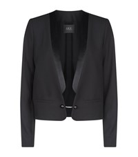 Set Blazer Jacket Female Black
