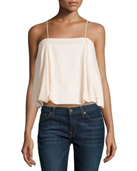 F.T.B By Fade To Blue Pleated Bubble Camisole Blush
