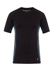 Every Second Counts Race Day Seamless T Shirt Black Multi