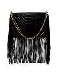 Brian Atwood Nepal Embossed Leather Bag