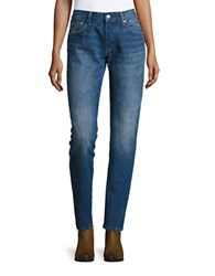 Levi's Straight Leg Jeans Dark Blue