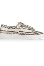 Michael Kors Valin Elaphe Sneakers Animal Print