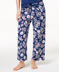 Charter Club Soft Cotton Printed Pajama Pants Created For Macy's Sketch Floral