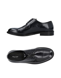 Henry Smith Lace Up Shoes Dark Blue