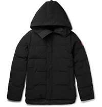 Canada Goose Macmillan Quilted Shell Hooded Down Parka Black