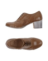 Keep Lace Up Shoes Brown