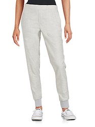 Vince Cotton Jogger Pants Heather Grey