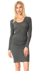 Lanston Ruched T Shirt Dress Sycamore