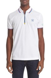 Men's Paul And Shark 'Nautical' Zipper Polo