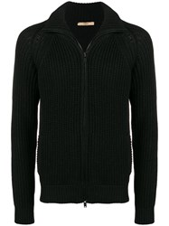 Nuur Zip Up Jumper Black