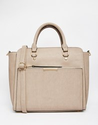 Oasis Tote Bag With Removable Inner Clutch Neutral Beige