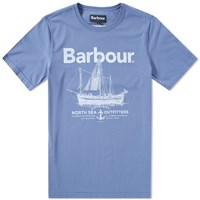 Barbour Sailboat Tee Blue