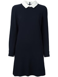 Goat 'Dusty' Dress Blue
