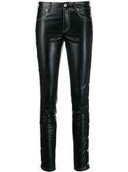 Versace Jeans Couture Studded Skinny Fit Trousers Blue