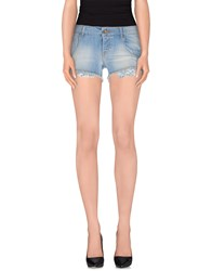 Maison Clochard Denim Denim Shorts Women Blue
