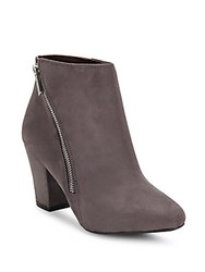 Bcbgeneration Side Zipper Ankle Boots Steel